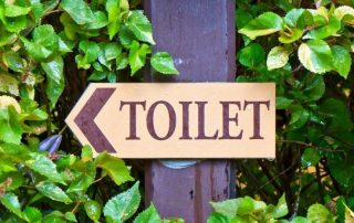 toilet issues when running