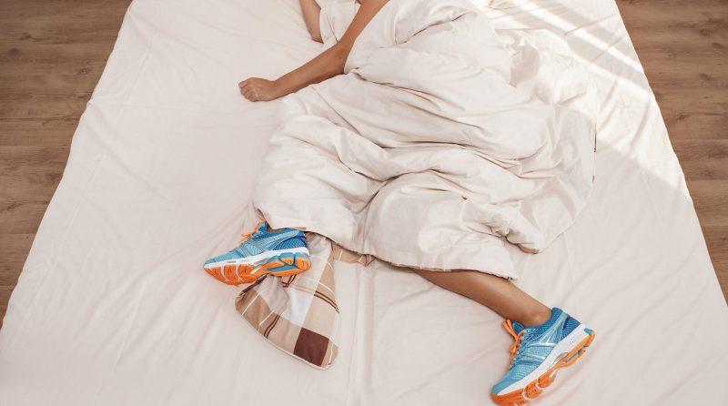 resting after an ultra marathon